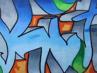 graffitis bleu