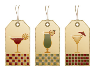 cocktail tags