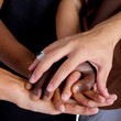 Interracial hands
