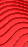 Modern Red Waves Background