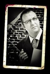 Businessman classic portrait