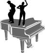 PIANO ET DANSEURS