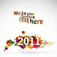 funky graphic design - 2011