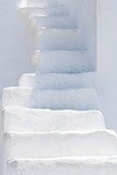 White stairs in Cyclades islands
