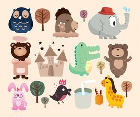 animals in park