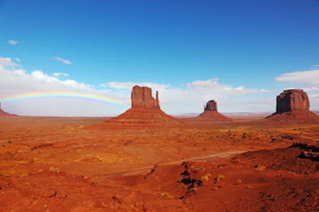 "The ""Mittens"" in Monument Valley"