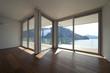 interno di una casa moderna vuota