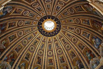 Kuppel Petersdom in Rom