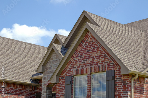 canvas print picture Roof Line