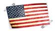 drapeau américain épingles à nourrice