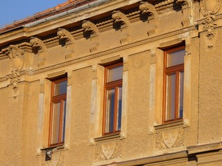 art nouveau building in Brno (Czech Republic)