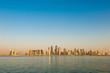 Doha skyline as of 29 Oct 2010