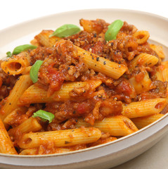Penne Pasta with Bolognaise Sauce