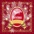 red christmas design
