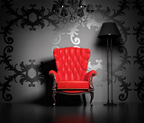 Fototapeta fotel - sztuka - Wnętrze