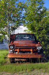 Antique pickup truck