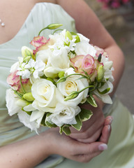 Bride's boquet