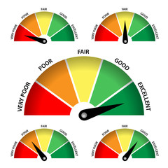 Customer Satisfaction Meter (rating opinion poll survey quality)