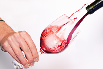 Spritziger Rotwein