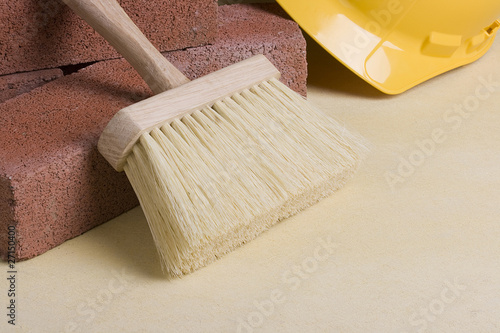 Stonemason brush