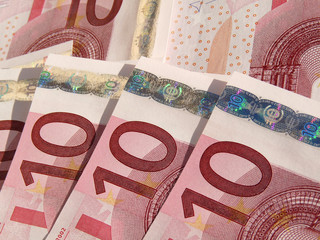 european papermoney, 10 euros