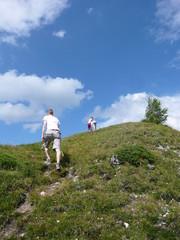 Überm Berg ist weiter al zu Fuß