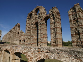 Acueducto de los Milagros en Mérida