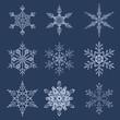 Eiskristalle - Schneeflocken - Snowflakes