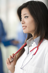 Chinese female doctor