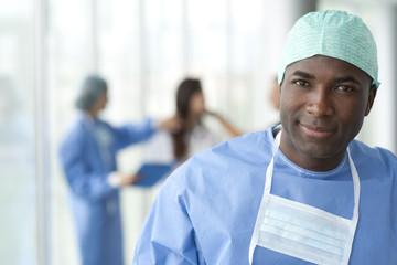 Male surgeon