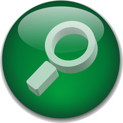 SEARCH Web Button (internet find online engine site go 3D icon)