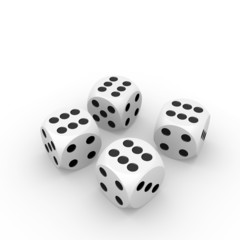 Four six dice