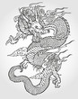 Asian Dragon Tattoo - 27187033