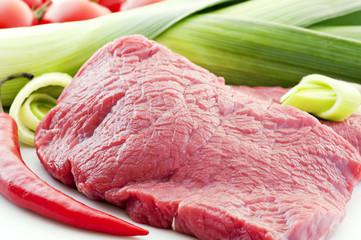 Rohes Steak