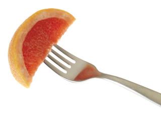 Slice of Pink Grapefruit