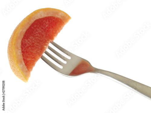Slice of Pink Grapefruit