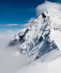 Viewpoint on Jungfraujoch