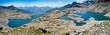 Les Alpes - Parc National des Ecrins - Lacs de Crupillouse.