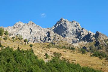 Peak of the mountain