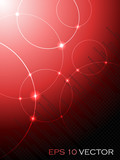 Fototapety Abstract fantasy red background