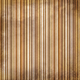 Vintagebrown  and yellow shabby colored striped background poster