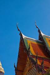 Thai gable temple