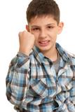 Aggressive kid poster