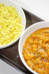 Masala Dal with Pliau Rice