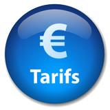 Bouton TARIFS (prix coût offres tickets réservation commerce) poster