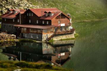 Bâlea Lake and Restaurant