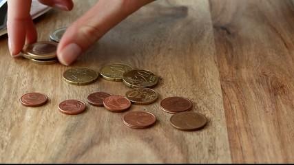 Geld sortieren