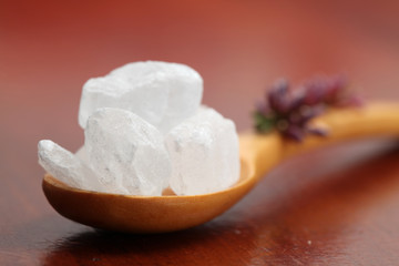 Sugar collection - white candies