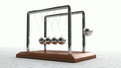 Newton's Cradle Looping Animation