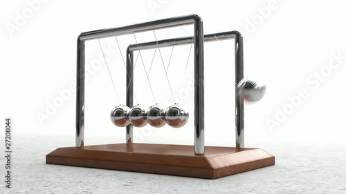 Newton's Cradle Looping Animation